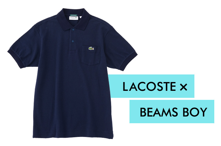 LACOSTE×BEAMS BOY